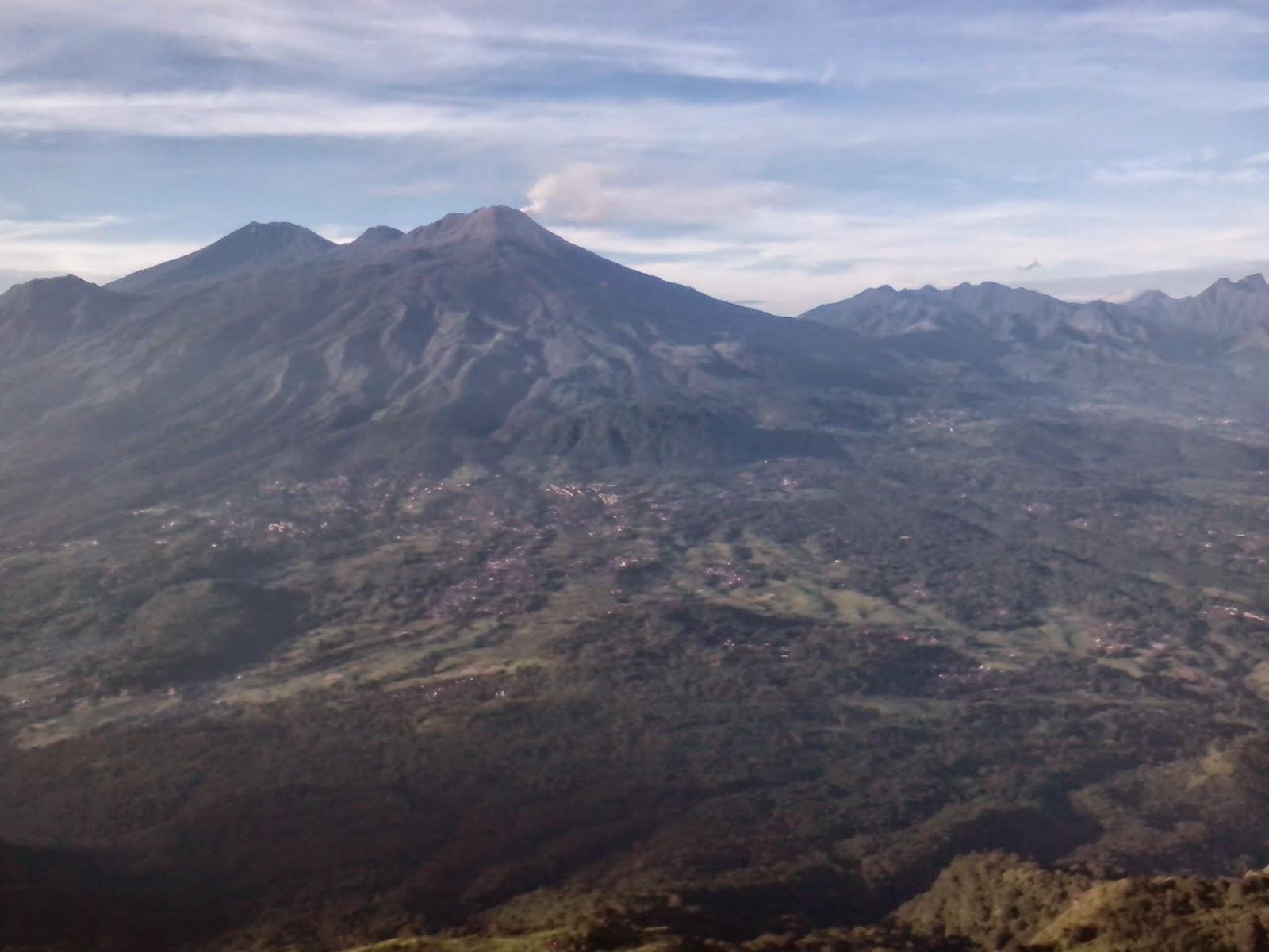 Kegagahan Gunung Arjuno