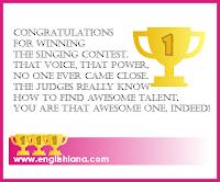 Contoh Kartu Ucapan Selamat Menang Lomba dalam Bahasa Inggris 10 Contoh Kartu Ucapan Selamat Menang Lomba dalam Bahasa Inggris Terbaik