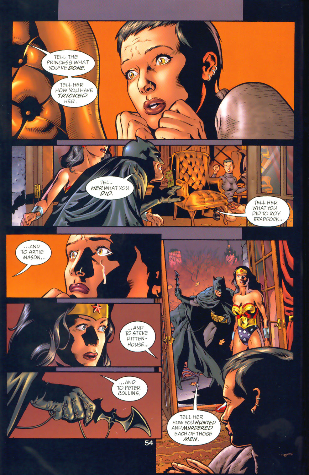 Read online Wonder Woman: The Hiketeia comic -  Issue # Full - 63