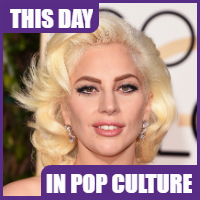 Lady Gaga was born on March 28,1986.