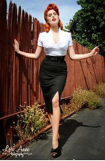 Pinup Girl Clothing Vogue Skirt