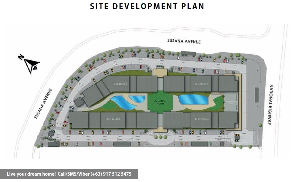 Site Development Plan | SMDC Leaf Residences - 2 Bedroom Unit | Condominium for Sale Susana Heights Muntinlupa