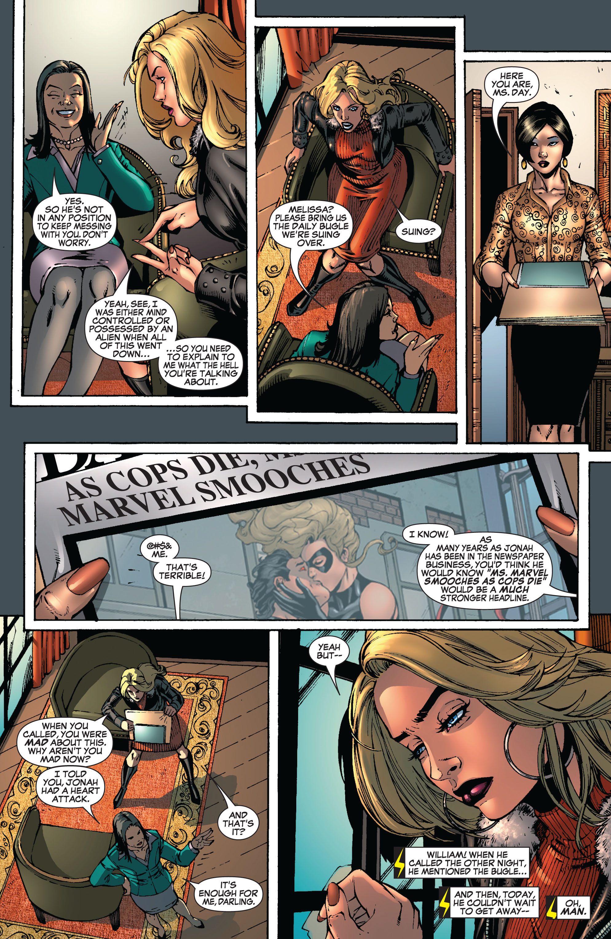 Read online Secret Invasion: The Infiltration comic -  Issue #8 - 21