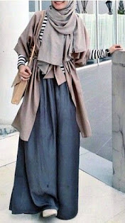 Baju Lebaran Bawahan yang luas dan nyaman dipakai oleh cewek