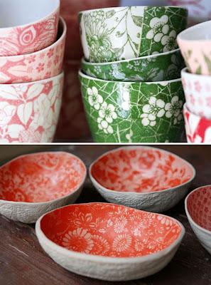 Sa D Ceramics Watermelon Bowls