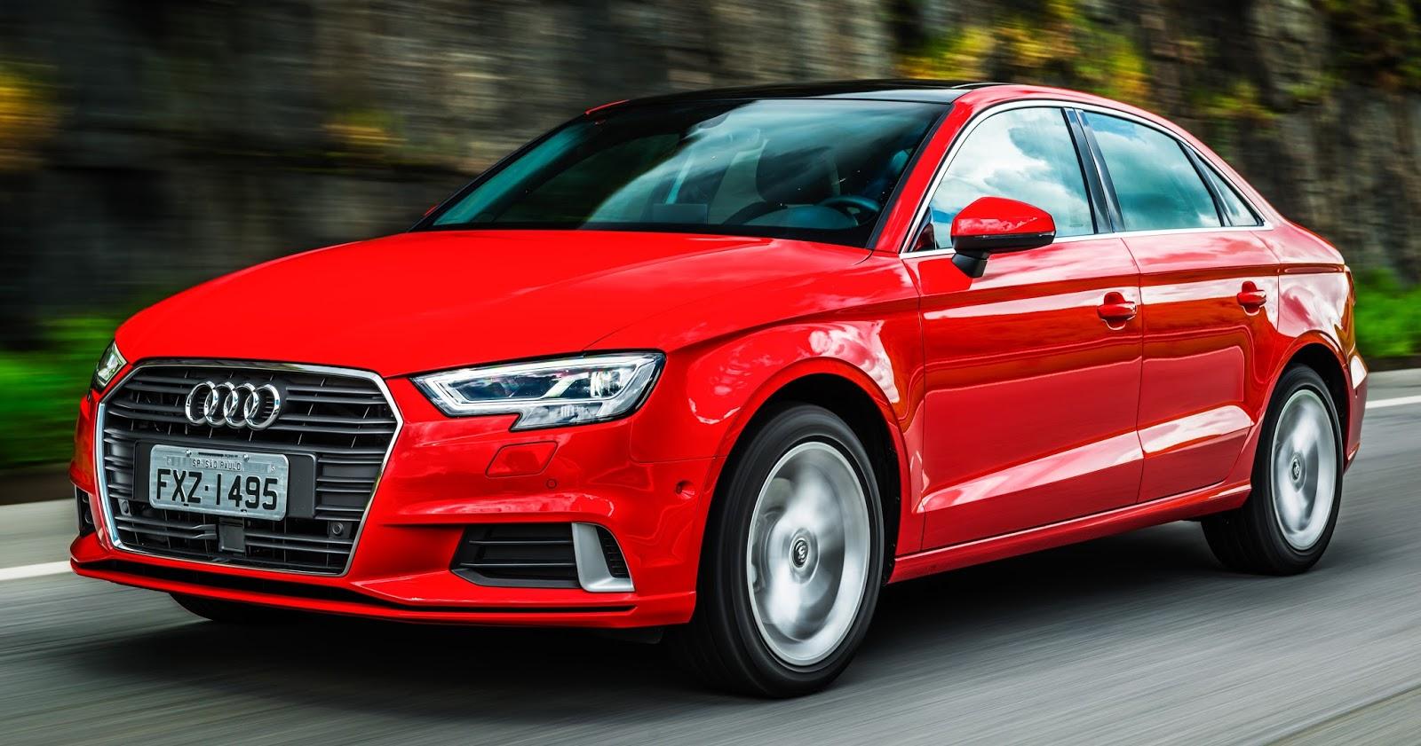 Audi A3 Sedan Ambition 2017 evolui em tecnologia e surpreende com motor de 220 cv