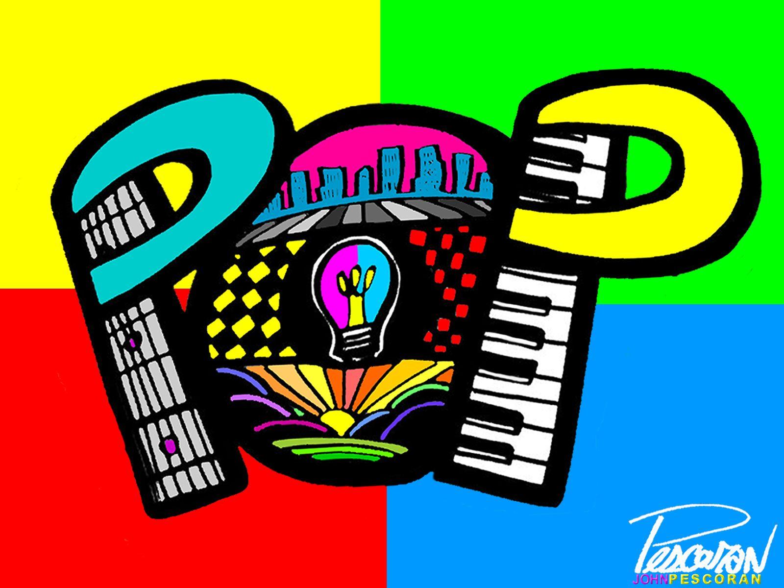 John Pescoran Pescoran Pop Art Wallpaper