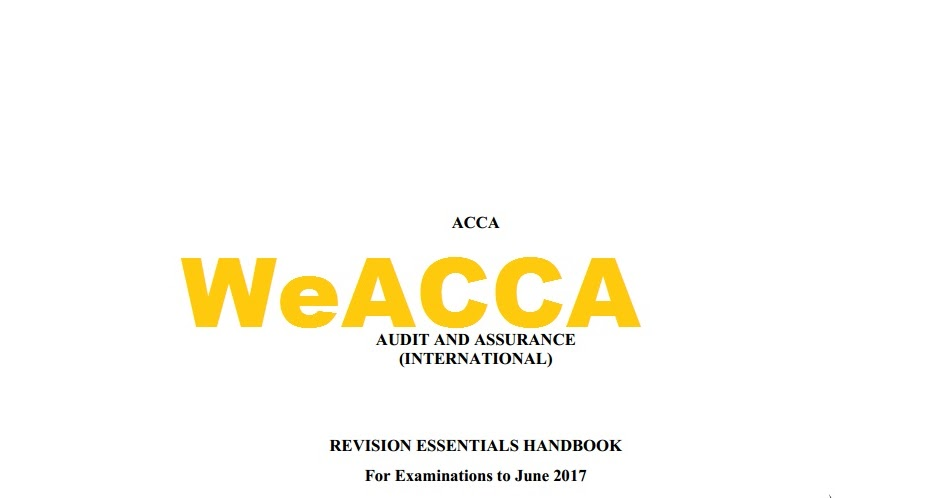 acca f6 notes pdf