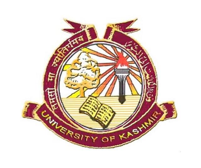 University Of Kashmir Recruitment 2016