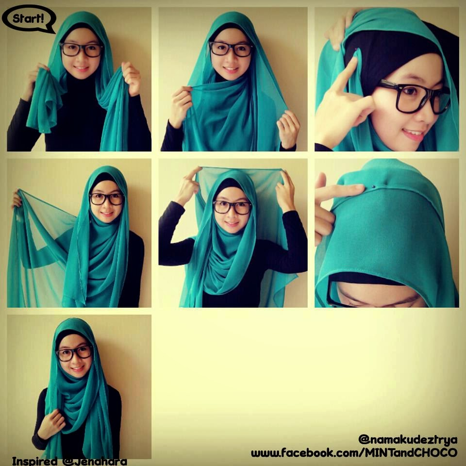 88 Gambarnya Tutorial Hijab Pashmina Semi Formal Untuk Kondangan