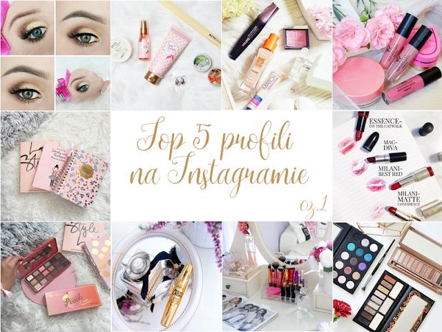 Top 5 profili na Instagramie