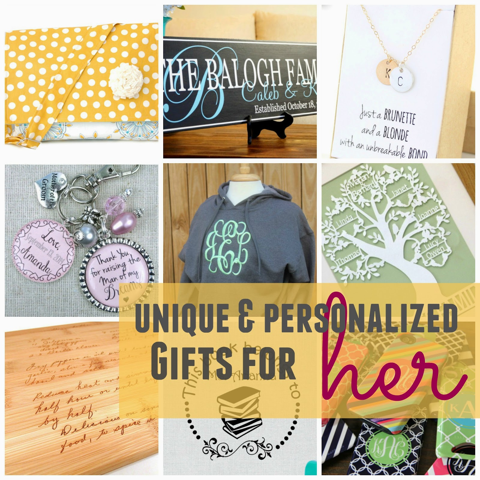 Amazing Christmas Gifts For Her: Unique Personalized Gifts For Her