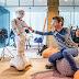 Robot Ginger geeft kinderen les over geld
