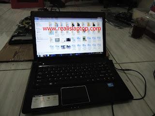 Serfis Laptop Lenovo G470 Mati