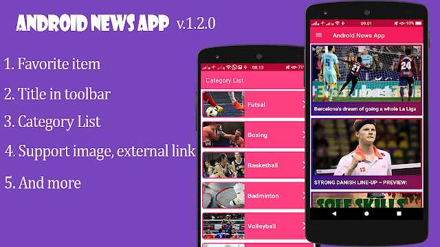 Android News App with Admin Panel v1.2.0