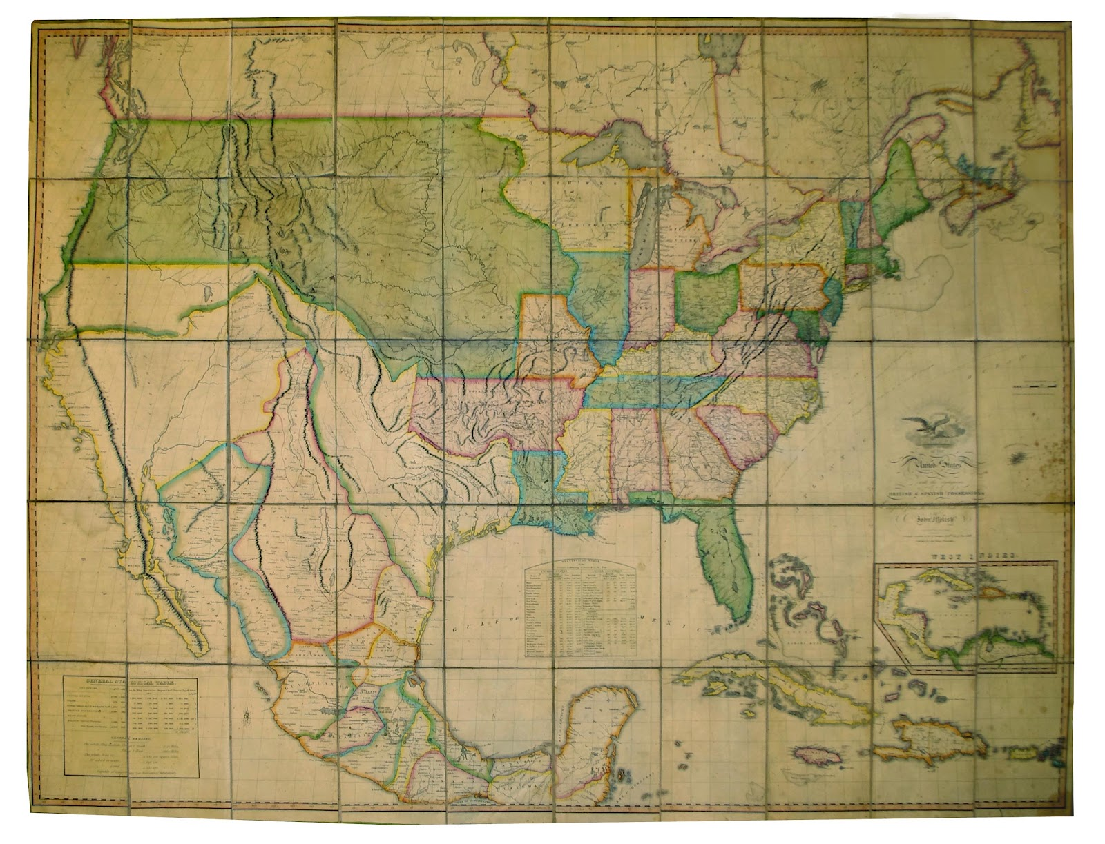 Graham Arader: The First Map to Show the Full East-West ...