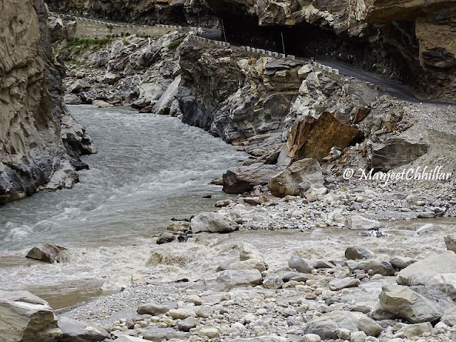 Confluence of Spiti and Sutlej