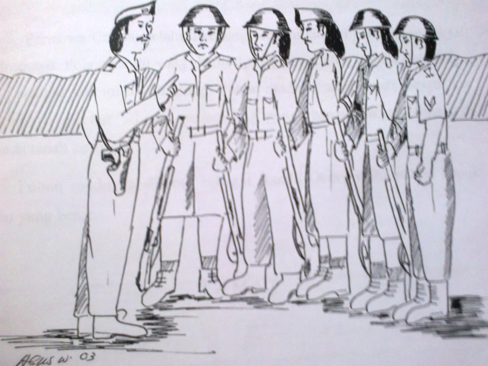 54 Gambar Karikatur Tema Pahlawan Karitur