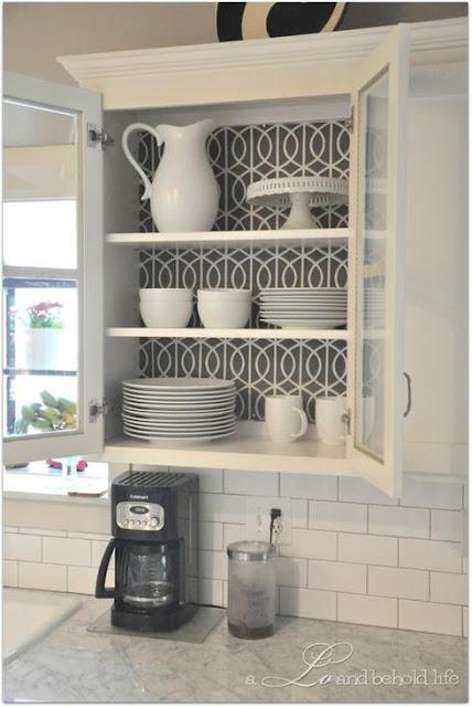 mudar armários da cozinha