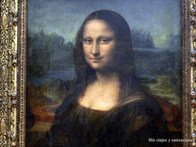 La Gioconda, Museo del Louvre, París, Francia