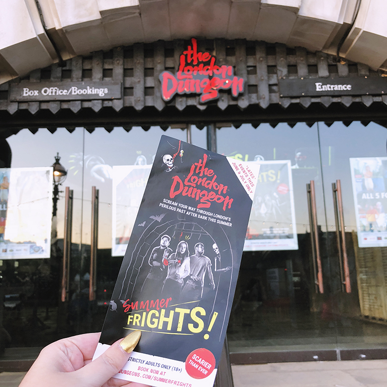London Dungeon Summer Frights