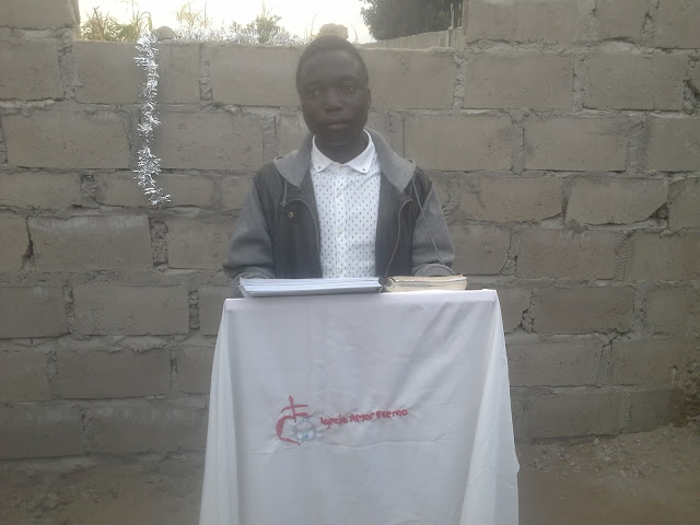 Brother Helder of Eternal Love Church in Mozambique