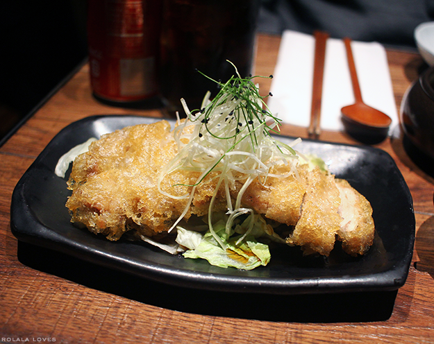 Fried Chicken with Spicy Soy Vinaigrette