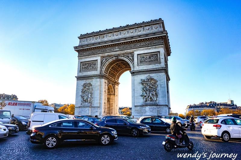 法國自由行凱旋門