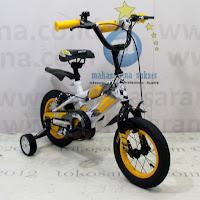 Sepeda Anak Wimcycle Street Metal BMX 12 Inci