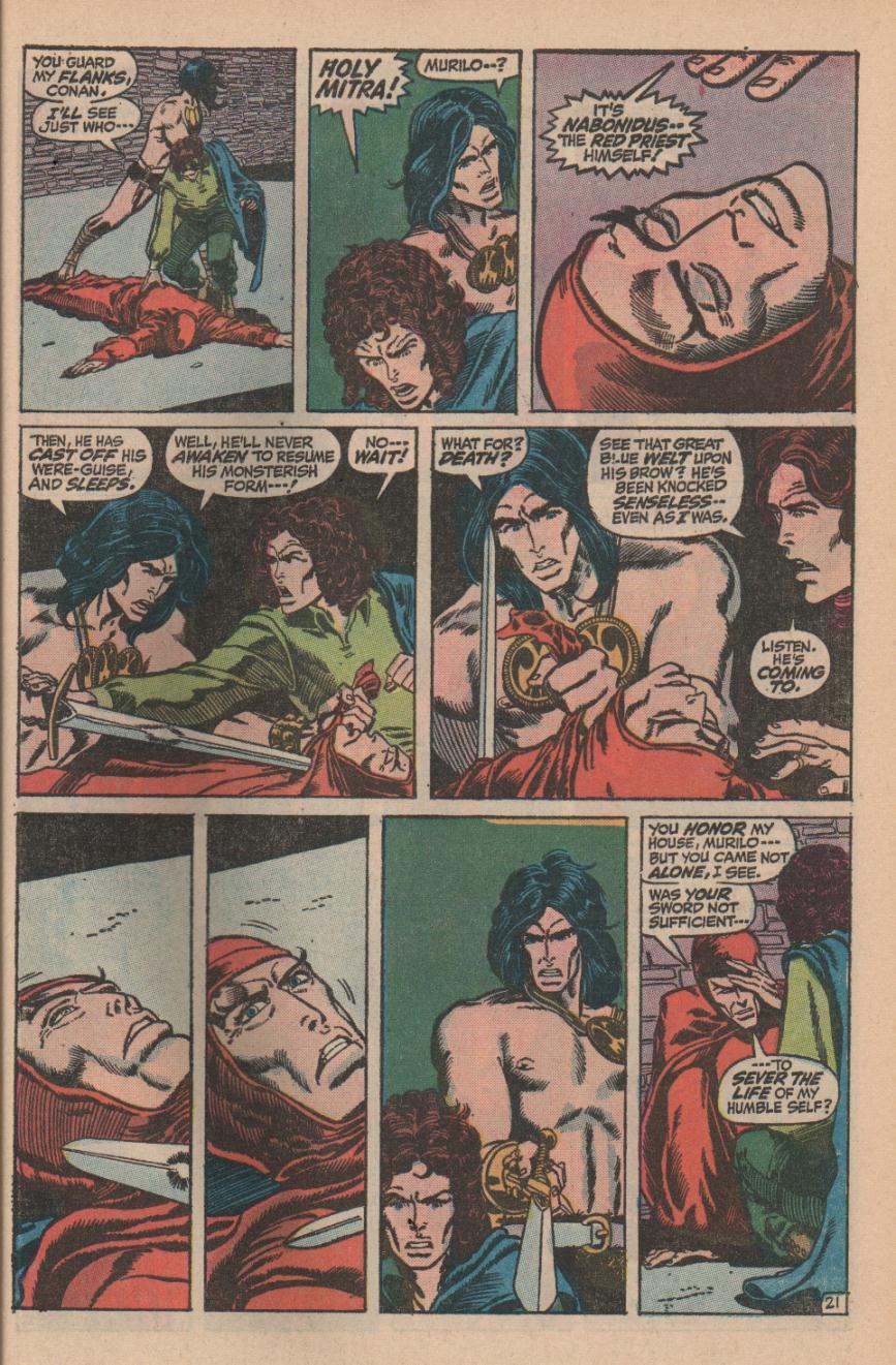 Conan the Barbarian (1970) Issue #11 #23 - English 29