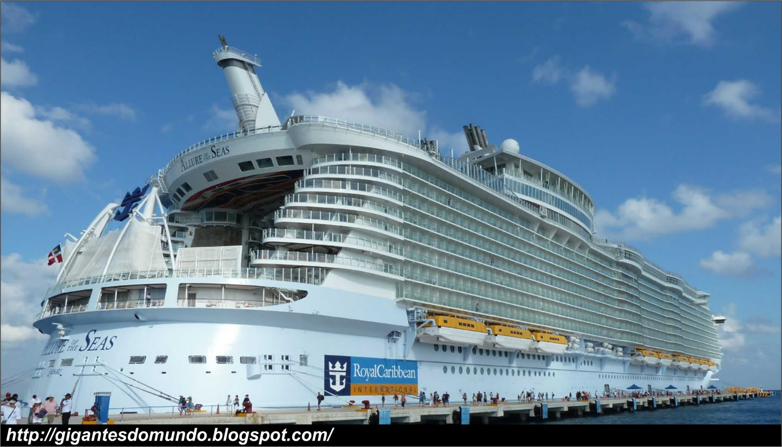 O maior navio de cruzeiro do mundo gigantes do mundo - The allure of the modular home ...