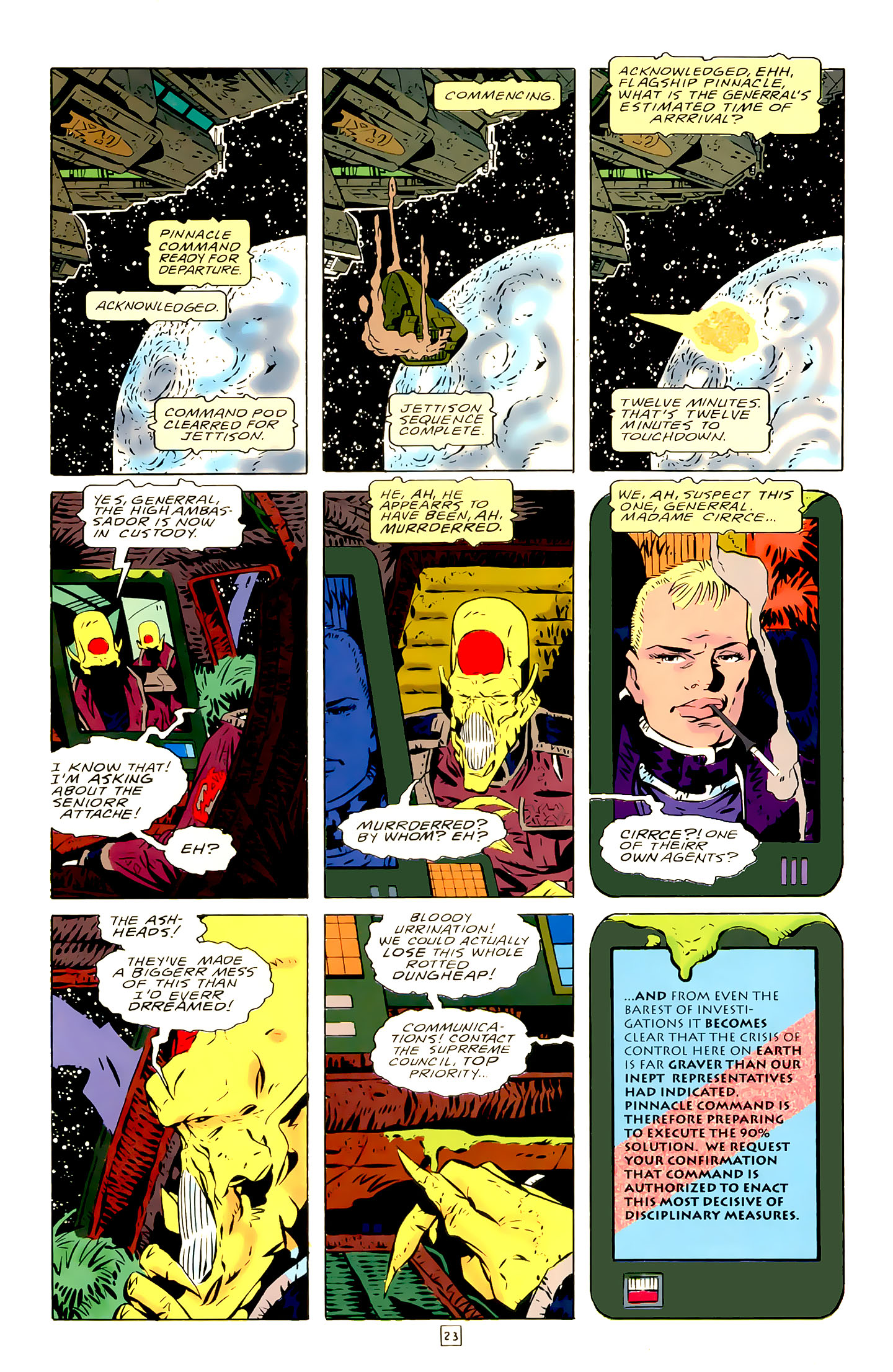 Legion of Super-Heroes (1989) 21 Page 23