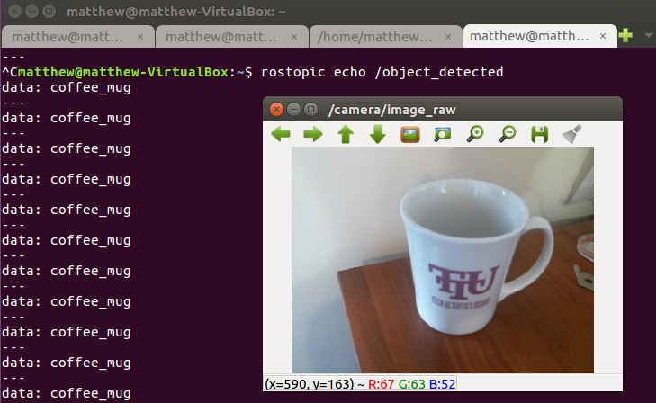 Projects from Tech: Visual Object Recognition in ROS Using