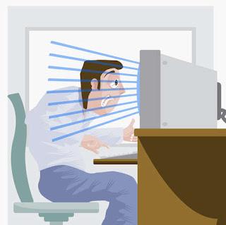 Cara Ampuh Melindungi Mata dari Bahaya Radiasi Komputer
