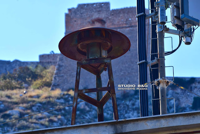 """Σειρήνες""""πολέμου"""" ήχησαν στο Ναύπλιο (βίντεο drone)"""