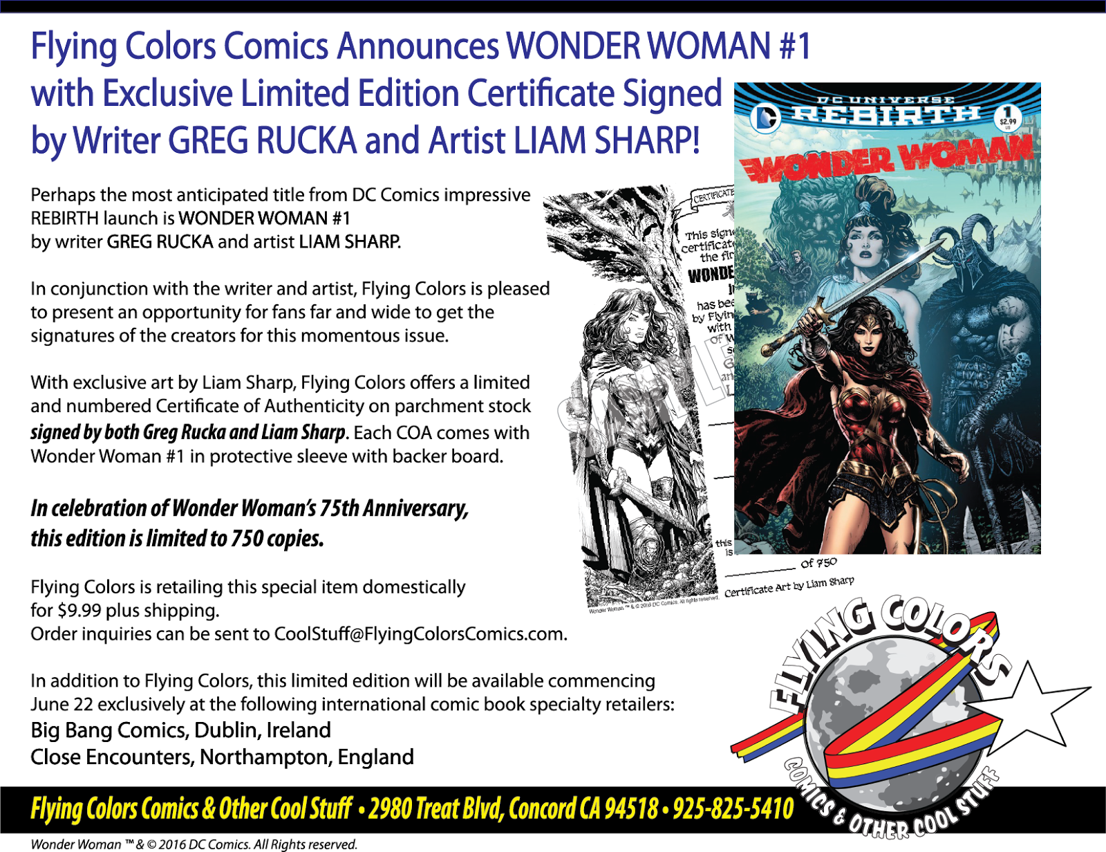 The View from Flying Colors Flying Colors Exclusive Liam Sharp