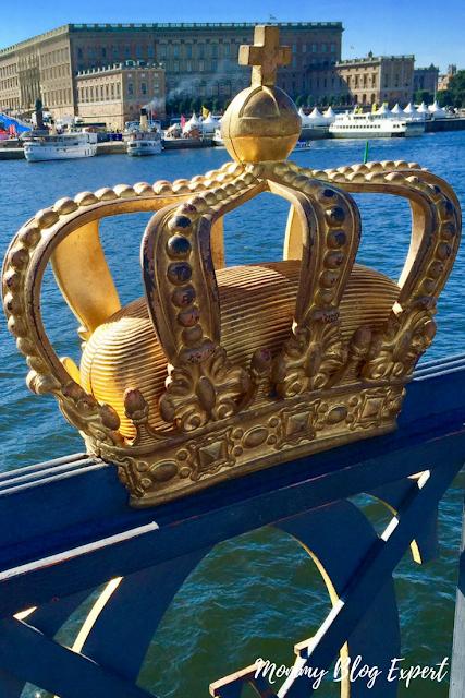 Stockholm Sweden Gold Crown Bridge