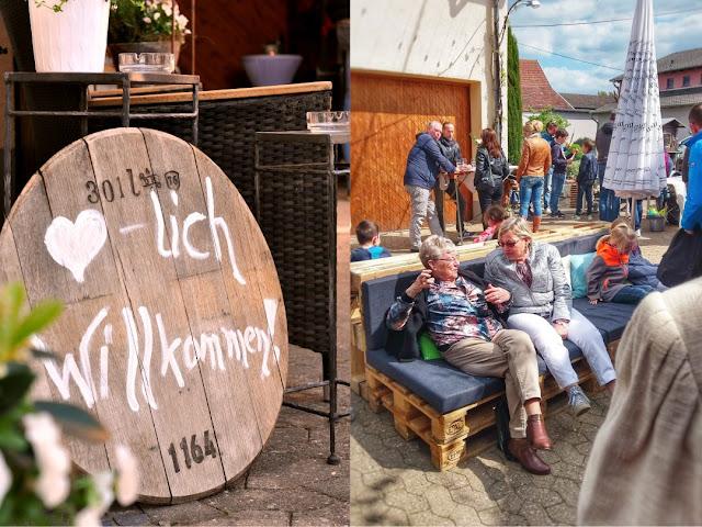 Jahrgangspräsentation im Wein- und Sektgut Bamberger an der Nahe.