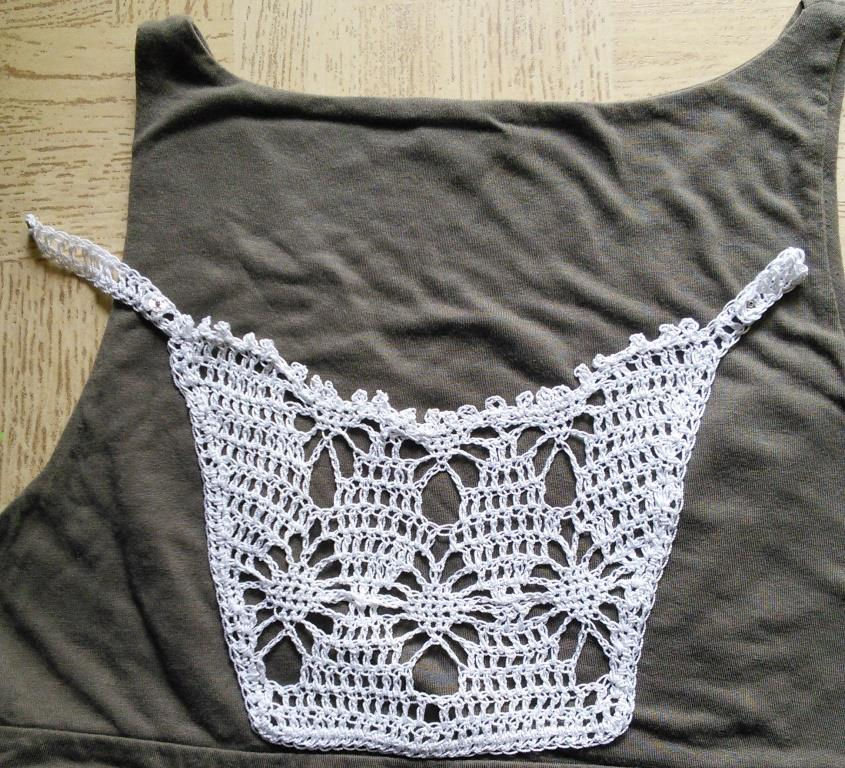 Sweet Nothings Crochet Clip On Mock Camisole