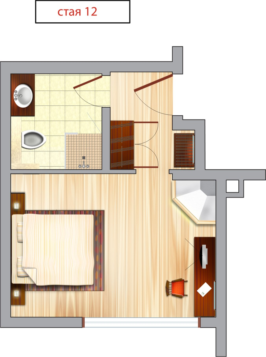 Hotel Room Designs: Foundation Dezin & Decor...: Layout Of Hotel Rooms -2