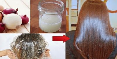 jugo de cebolla para la caída del cabello