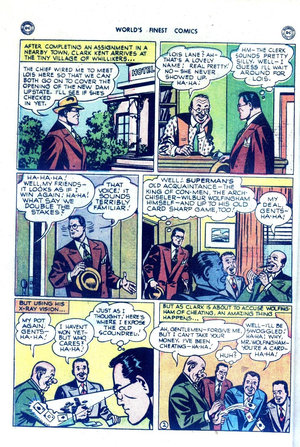 Read online World's Finest Comics comic -  Issue #43 - 4