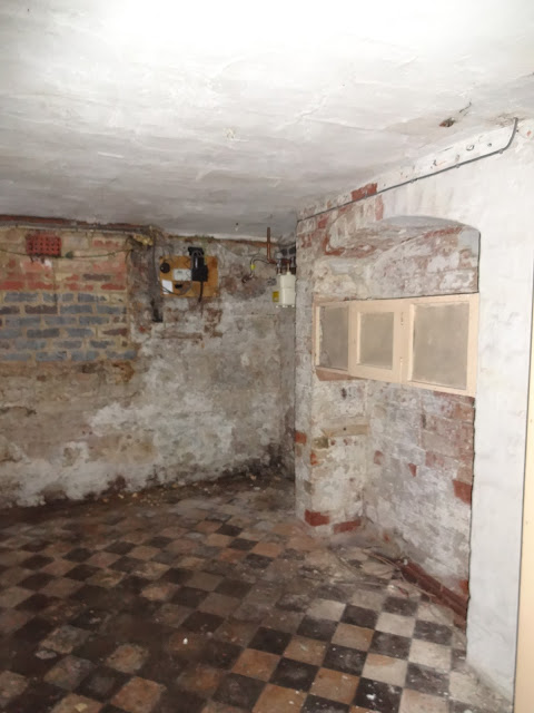 victorian terrace basement