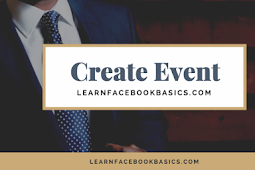 How do I create or edit an event for my Page on Facebook?