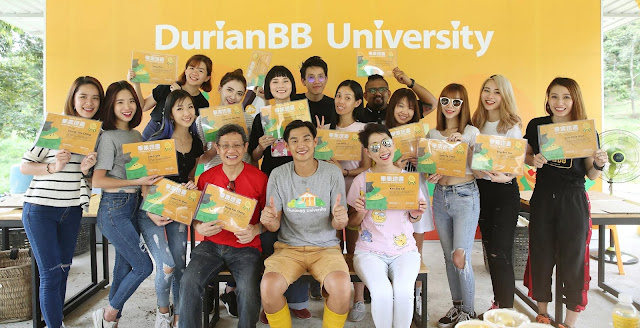 DurianBB University - First Batch Durian Expert
