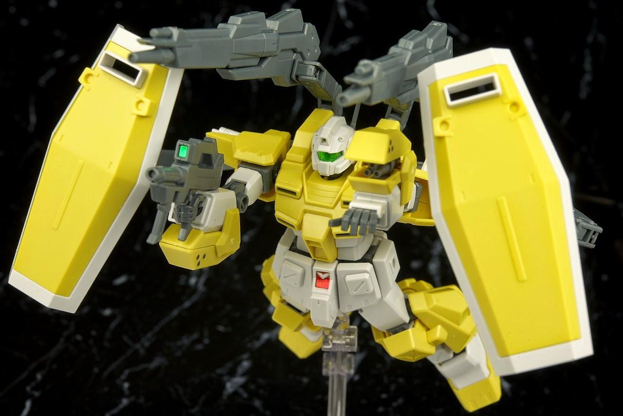 Gundam Guy Hg 1 144 Powered Gm Cardigan Review By Hacchaka