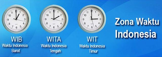 Mengapa Indonesia Mempunyai Tiga (3) Waktu Berbeda? Baca ini
