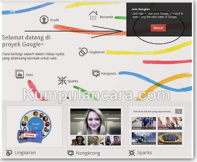 Cara Daftar Google Plus   Google+