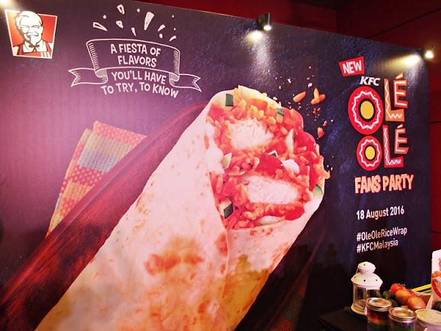 KFC Malaysia Ole Ole Rice Wrap
