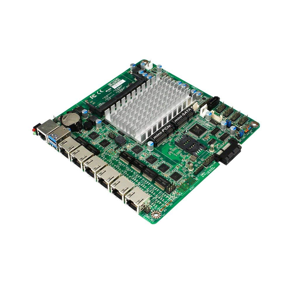 FanlessTech: Jetway NF692 features SIX Intel Gigabit Ethernet ports